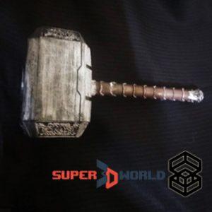 Marteau de Thor imprimé en 3D
