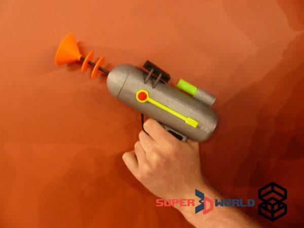 Pistolet Laser de Rick et Morty