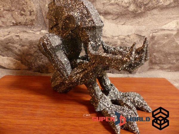 Statue de Chozo Metroid