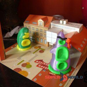 Tentacules de Day of the Tentacle imprimés en 3D