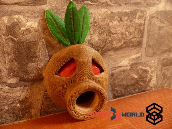 Masque Mojo (Zelda) en bois