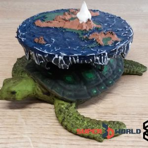 3D printed and hand painted Discworld