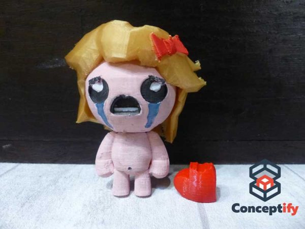 Maggy figure (the Binding of Isaac)