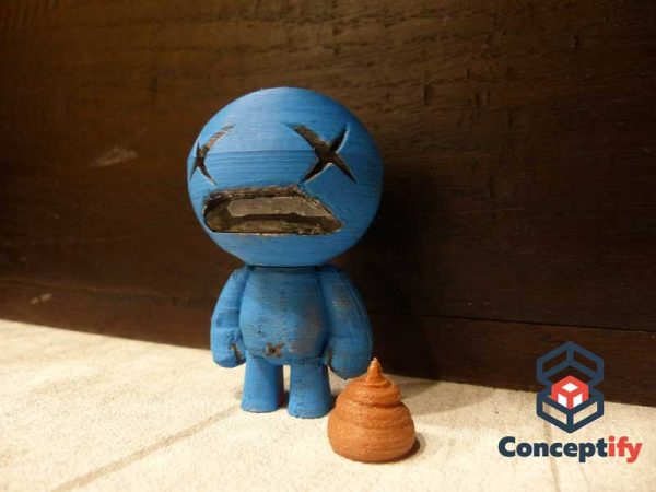 ??? (Blue Baby) figure (The binding of Isaac)