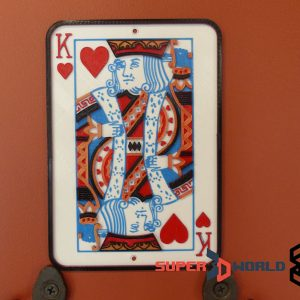king of hearts portrait