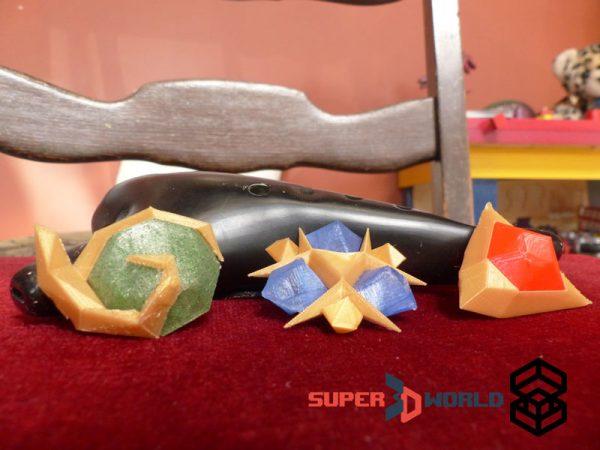 Pierres Spirituelles (Zelda) - Impression 3D Nancy