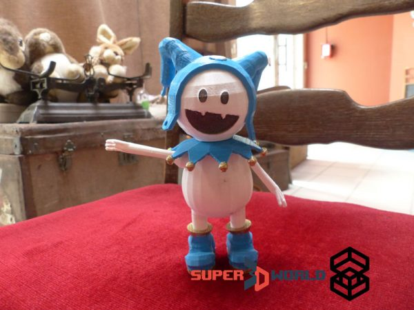 Figurine de Jack Frost (Shin Megami Tensei / Persona) fabriquée par impression 3D