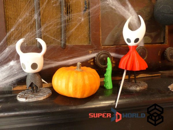 Hollow Knight figures - Hornet and The Knight - shipping worldwide