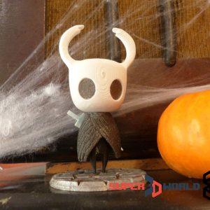 Figurine du chevalier (The Knight) imprimée en 3D (Hollow Knight)
